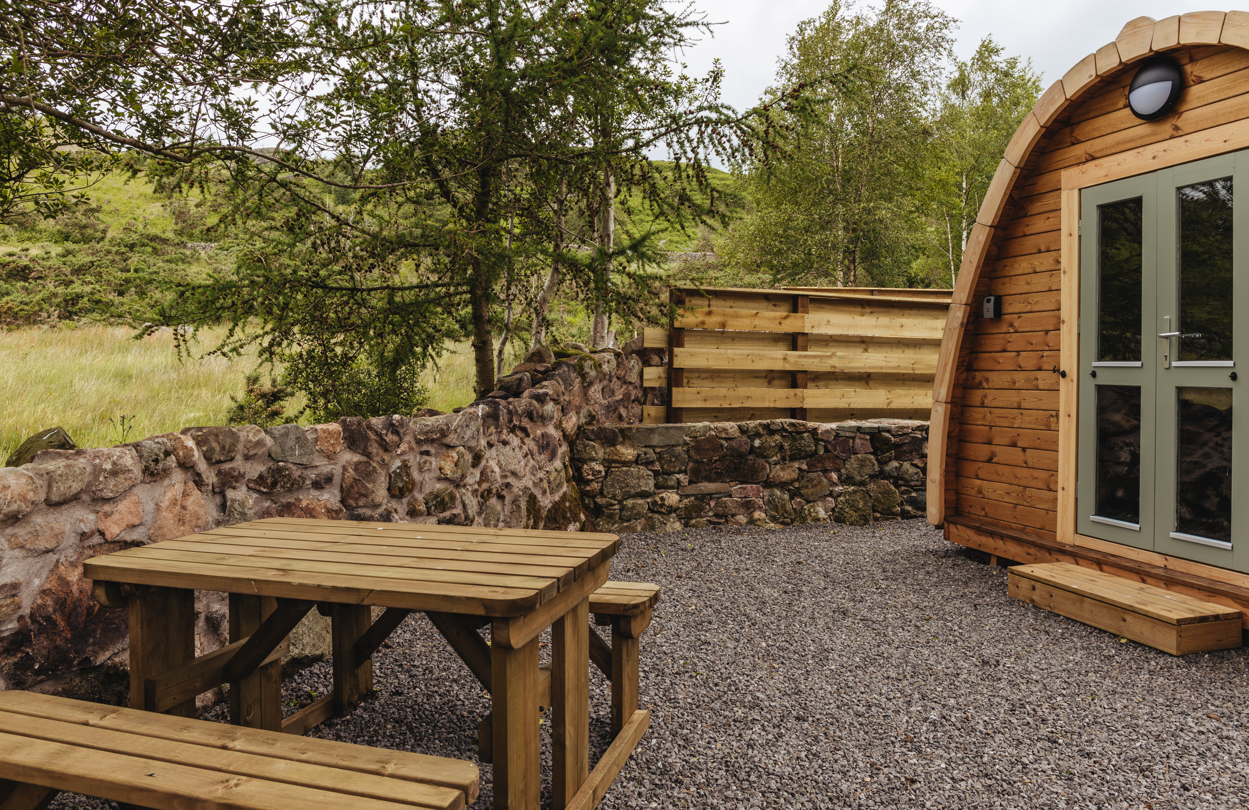 Woodland Pods - Eskdale Self Catering Accommodation